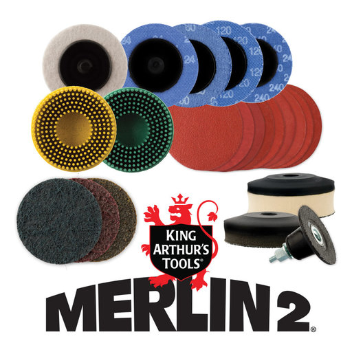 View a Larger Image of Merlin2 Deluxe set 2""