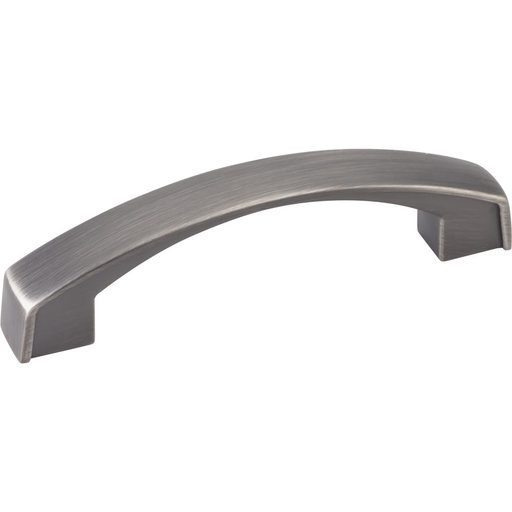 View a Larger Image of Merrick Pull, 96 mm C/C, Brushed Pewter