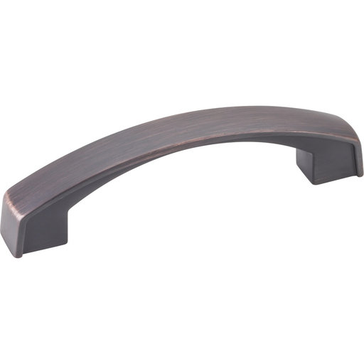 View a Larger Image of Merrick Pull, 96 mm C/C, Brushed Oil Rubbed Bronze