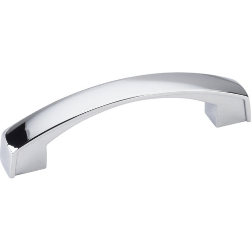 View a Larger Image of Merrick Pull, 96 mm C/C, Polished Chrome