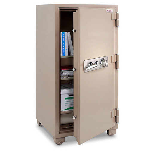 View a Larger Image of Mesa 2-Hour Fire Safe with Combination Lock, 3.6 cu. ft., Tan, Model MFS100C