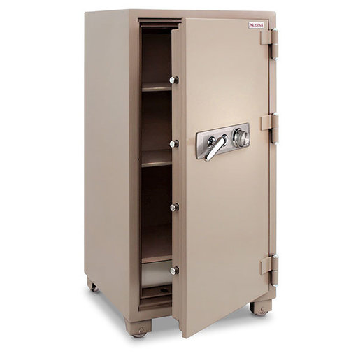 View a Larger Image of Mesa 2-Hour Fire Safe with Combination Lock, 6.8 cu. ft., Tan, Model MFS120C
