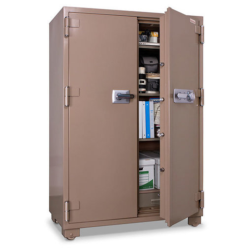 View a Larger Image of Mesa 2-Hour Fire Safe with Double Doors and Combination Lock, 20.7 cu. ft., Tan, Model MFS170DDC