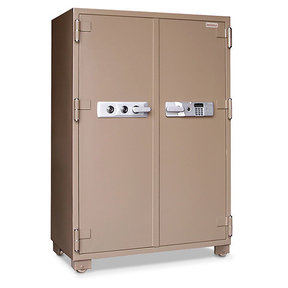 Mesa 2-Hour Fire Safe with Double Doors and Electronic Lock, 20.7 cu. ft., Tan, Model MFS170DDE