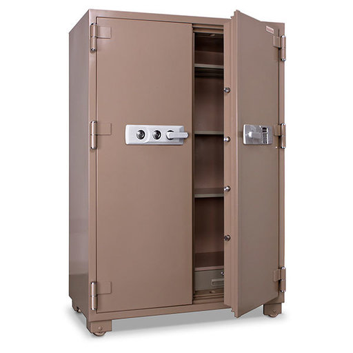 View a Larger Image of Mesa 2-Hour Fire Safe with Double Doors and Electronic Lock, 20.7 cu. ft., Tan, Model MFS170DDE