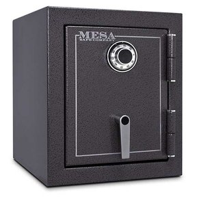 Mesa Burglary and Fire Safe with Combination Lock, 1.7 cu.ft., Hammered Grey, Model MBF1512C
