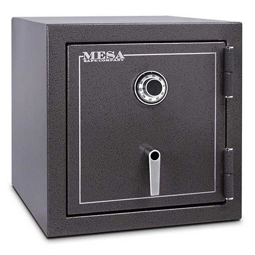 View a Larger Image of Mesa Burglary and Fire Safe with Combination Lock, 3.3 cu.ft. , Hammered Grey, Model MBF2020C