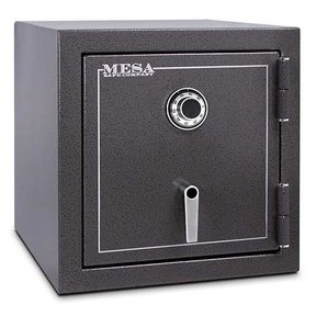 Mesa Burglary and Fire Safe with Combination Lock, 3.3 cu.ft. , Hammered Grey, Model MBF2020C