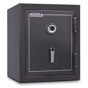 Mesa Burglary and Fire Safe with Combination Lock, 4.1 cu.ft. , Hammered Grey, Model MBF2620C