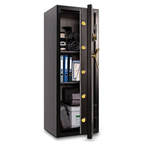 View a Larger Image of Mesa Burglary and Fire Safe with Combination Lock, 7.9 cu.ft., Black, Model MBF5922C-P