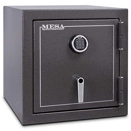 View a Larger Image of Mesa Burglary and Fire Safe with Electronic Lock, 3.3 cu.ft. , Hammered Grey, Model MBF2020E