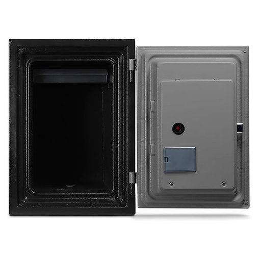 View a Larger Image of Mesa Fire Safe with Electronic Lock, 0.6 cu. ft., Black and Gray, Model MF50E