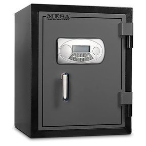 Mesa Fire Safe with Electronic Lock, 1.5 cu. ft., Black and Gray, Model MF60E