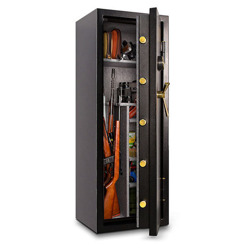 View a Larger Image of Mesa Gun Safe with Electronic Lock, 7.9 cu.ft., 14 Gun Capacity, Black,  Model MBF5922E