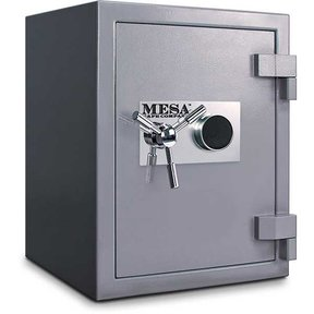 Mesa High Security Burglary Fire Safe with Combination Lock, 3.0 cu. ft., Silver, Model MSC2520C