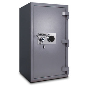 Mesa High Security Burglary Fire Safe with Combination Lock, 4.4 cu. ft., Silver, Model MSC3820C