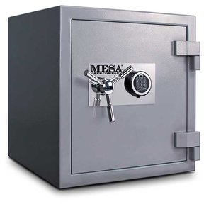 Mesa High Security Burglary Fire Safe with Electronic Lock, 2.4 cu. ft., Silver, Model MSC2120E