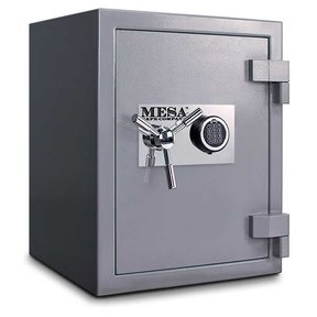Mesa High Security Burglary Fire Safe with Electronic Lock, 3.0 cu. ft., Silver, Model MSC2520E