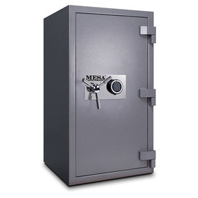 Mesa High Security Burglary Fire Safe with Electronic Lock, 4.4 cu. ft., Silver, Model MSC3820E