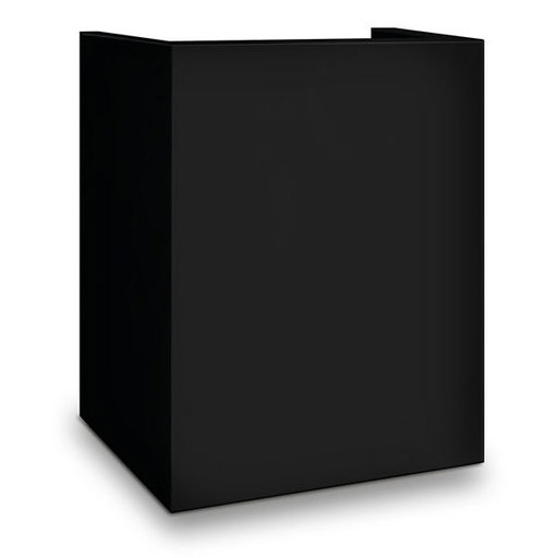 View a Larger Image of Mesa Hotel/Residential Pedestal for MHRC916E-BLK Safe, Black, Model MP916-BLK