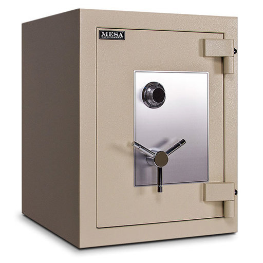 View a Larger Image of Mesa TL-15 Safe with U.L.-listed Group 2 Combination Lock, 11.8 cu. ft., Parchment, Model MTLE2518