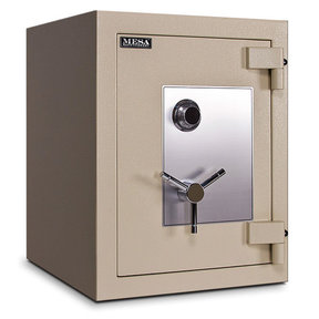 Mesa TL-15 Safe with U.L.-listed Group 2 Combination Lock, 11.8 cu. ft., Parchment, Model MTLE2518