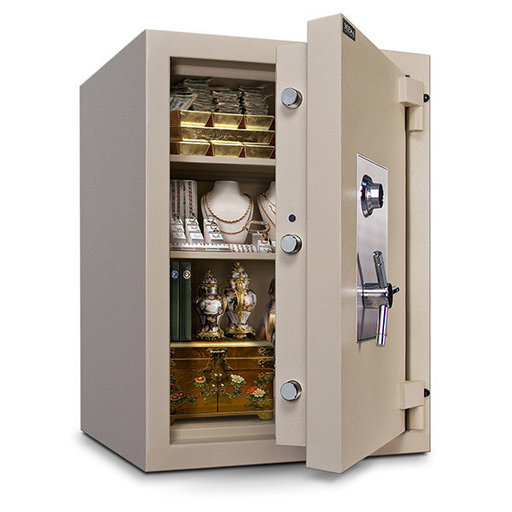 View a Larger Image of Mesa TL-15 Safe with U.L.-listed Group 2 Combination Lock, 22.2 cu. ft., Parchment, Model MTLE3524