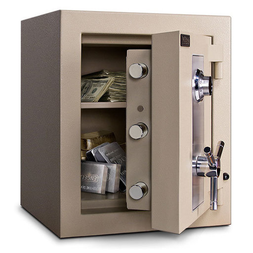 View a Larger Image of Mesa TL-15 Safe with U.L.-listed Group 2 Combination Lock, 6.5 cu. ft., Parchment, Model MTLE1814