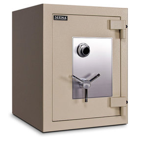 Mesa TL-30 Safe with U.L.-listed Group 2 Combination Lock, 11.8 cu. ft., Parchment, Model MTLF2518
