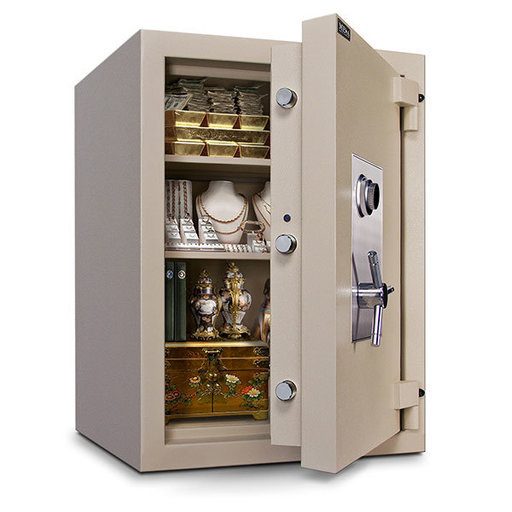 View a Larger Image of Mesa TL-30 Safe with U.L.-listed Group 2 Combination Lock, 22.2 cu. ft., Parchment, Model MTLF3524