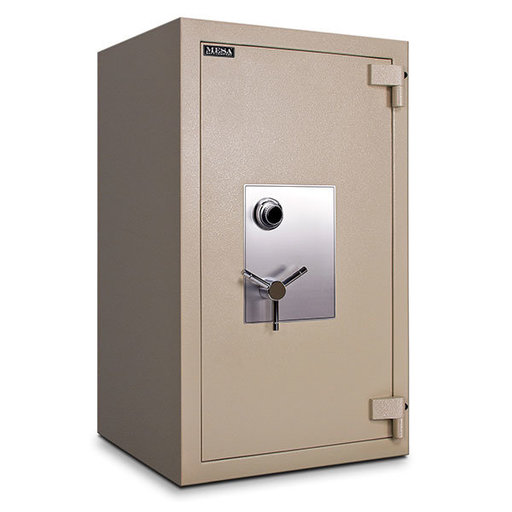 View a Larger Image of Mesa TL-30 Safe with U.L.-listed Group 2 Combination Lock, 27.5 cu. ft., Parchment, Model MTLF4524