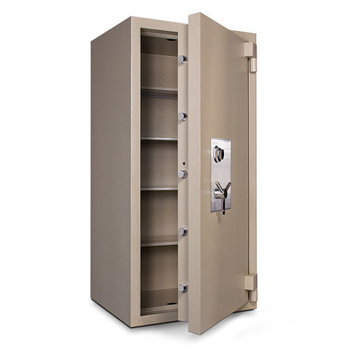 View a Larger Image of Mesa TL-30 Safe with U.L.-listed Group 2 Combination Lock, 43.0 cu. ft., Parchment, Model MTLF6528