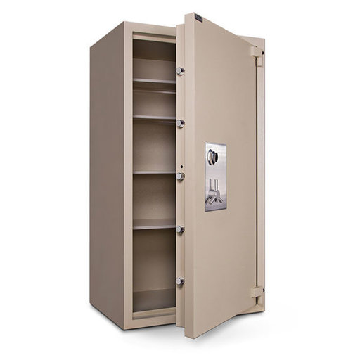 View a Larger Image of Mesa TL-30 Safe with U.L.-listed Group 2 Combination Lock, 63.9 cu. ft., Parchment, Model MTLF7236