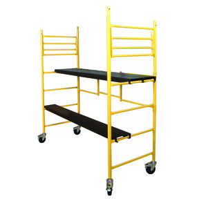 6 Foot Maxi Round Mobile Work Scaffold, Model I-IRC