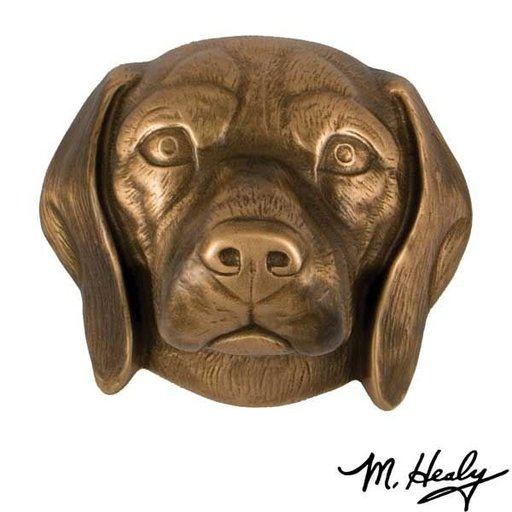 View a Larger Image of Dog Knockers Beagle Door Knocker, Bronze
