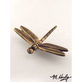 Dragonfly Garden Art Sculpture, Bronze