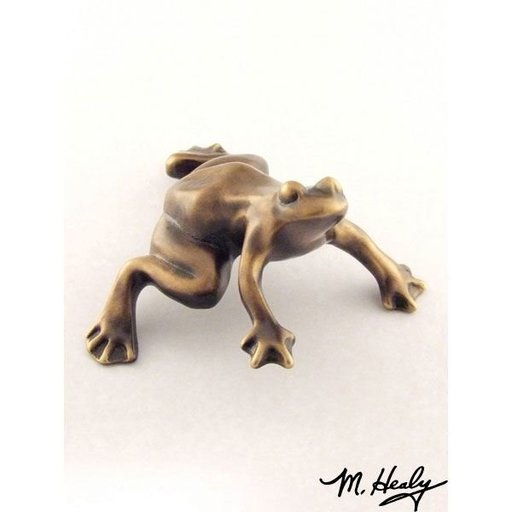 View a Larger Image of Frog Garden Art, Bronze