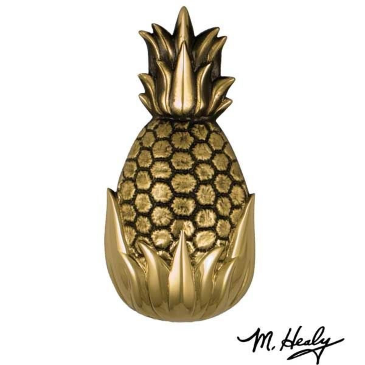 Its My Door Hospitality Pineapple Door Knocker Polished And