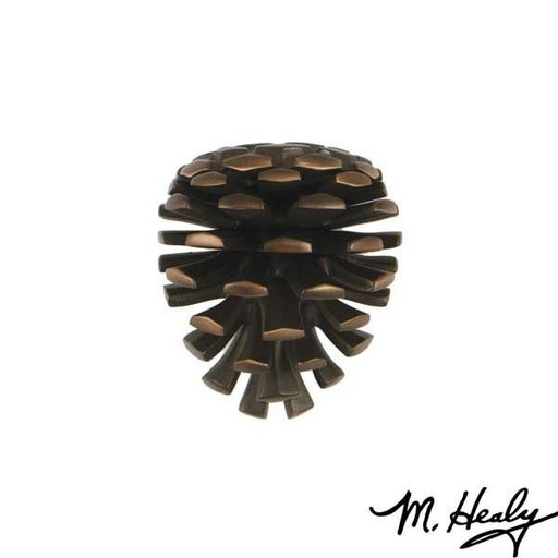 View a Larger Image of Pinecone Door Knocker, Oiled Bronze
