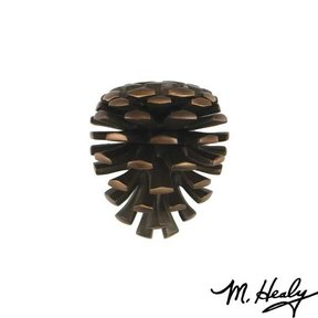 Pinecone Door Knocker, Oiled Bronze