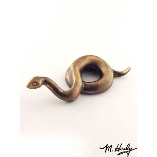 View a Larger Image of Snake Garden Art Sculpture, Bronze