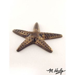 Starfish Garden Art Sculpture, Bronze