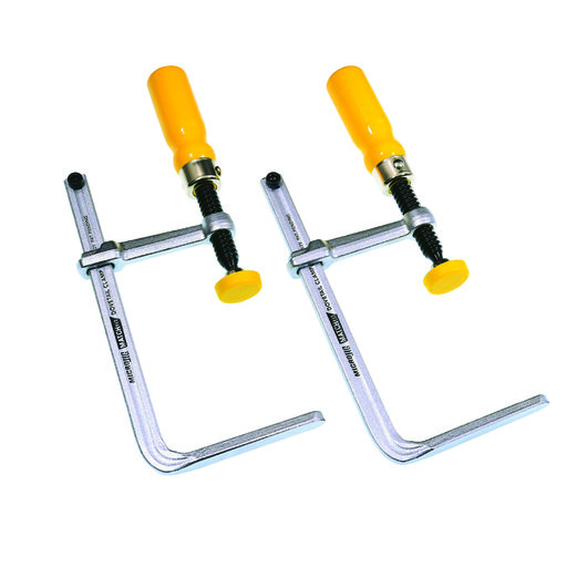 View a Larger Image of MICROJIG Matchfit Dovetail Fixture and Jig Clamp Pair