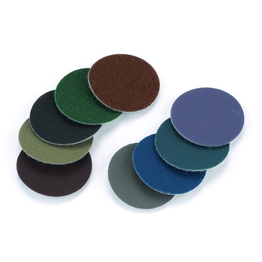 "View a Larger Image of 1"" Hook & Loop Sanding Disc Assortment 9 pc"