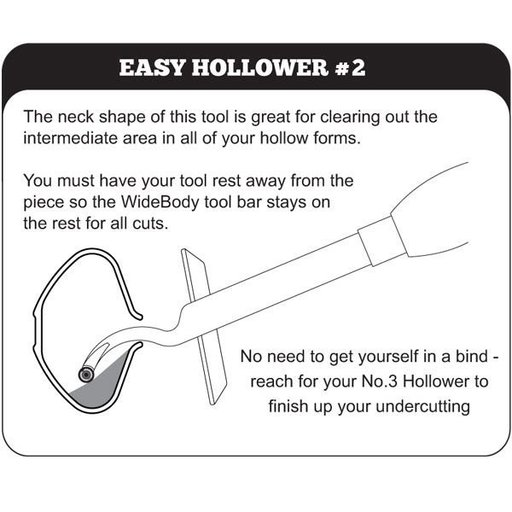 View a Larger Image of Mid-Size easy Hollower No. 2