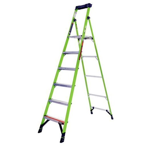 View a Larger Image of MightLite Model 8 Stepladder 300 lbs. Capacity