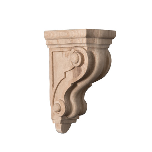 View a Larger Image of Milan Classic Corbel Red Oak