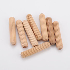45-Count 5/16-Inch Fluted Dowel Pins