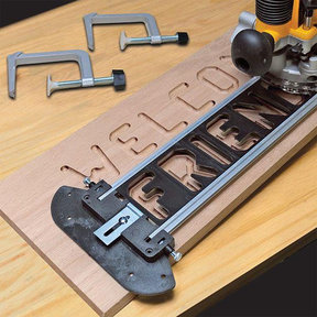TurnLock SignCrafter Sign Making Jig