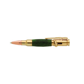 Mini Bolt Action 30 Caliber 24kt Gold Pen Kit PKCP8200